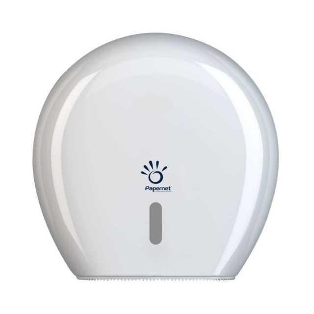 Papernet dozownik antybakteryjny do papieru toaletowego mini jumbo, Mini Jumbo Toilet Tissue Dispenser 416145