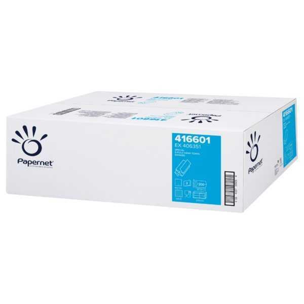 Papernet ręczniki papierowe, składane, Special Z-Fold Hand Towel White 416601