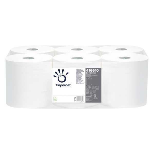 Papernet ręcznik papierowy, jednowarstwowy w roli centerfeed, Standard Hand Towel Centerfeed Roll 416610