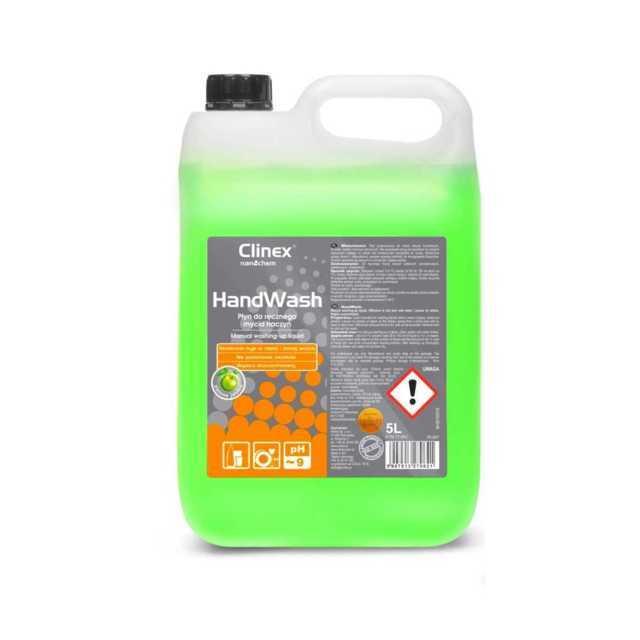 CLINEX HANDWASH płyn do ręcznego mycia naczyń 5 litrów