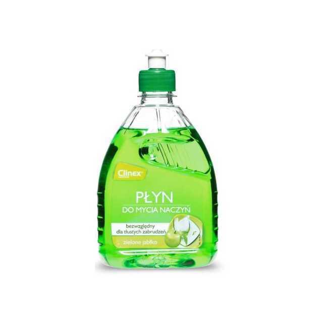 CLINEX HANDWASH – płyn do mycia naczyń, zielone jabłko 500ml
