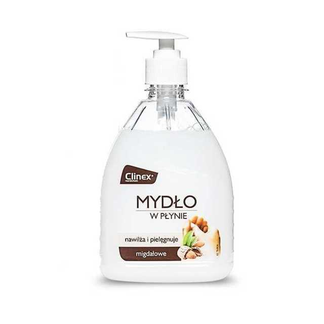 CLINEX LIQUID SOAP nawilżające mydło w płynie o zapachu migdałowym 500ml