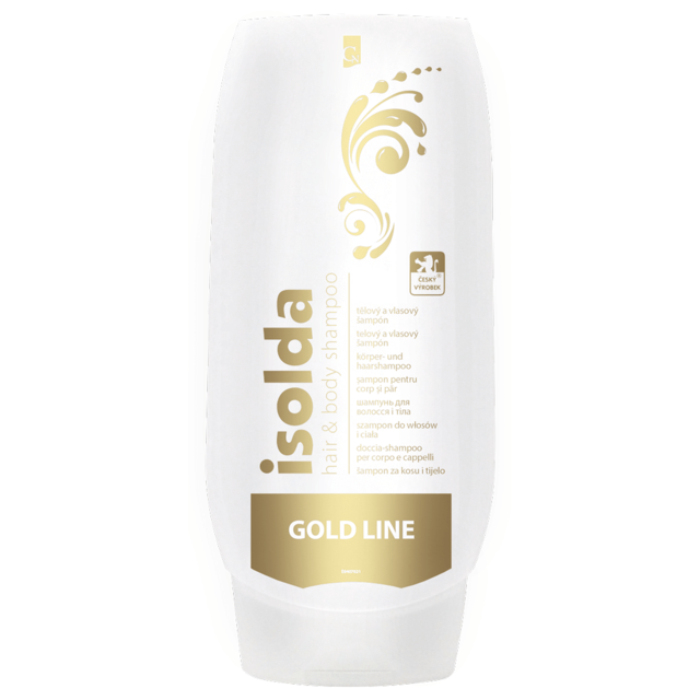 0001826 Isolda hair body gold 500ml