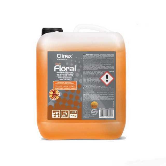 CLINEX FLORAL FRUIT uniwersalny płyn do mycia podłóg 10 litrów