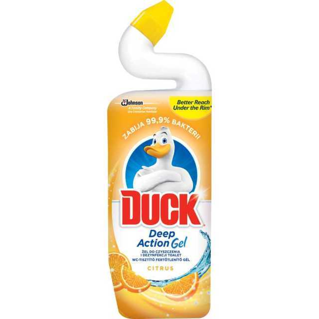 Duck Zel do toalet Duck deep action citrus 750ml
