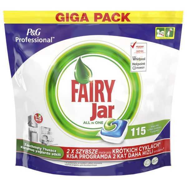 Fairy Professional kapsułki do zmywarek all in one giga pack 115 sztuk
