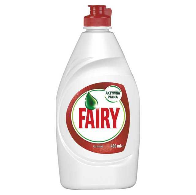 Fairy Fairy plyn do mycia naczyn Pomagranate Red orange 450 ml