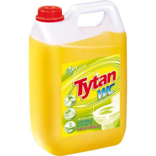 Płyn do mycia WC Tytan zolty 5l