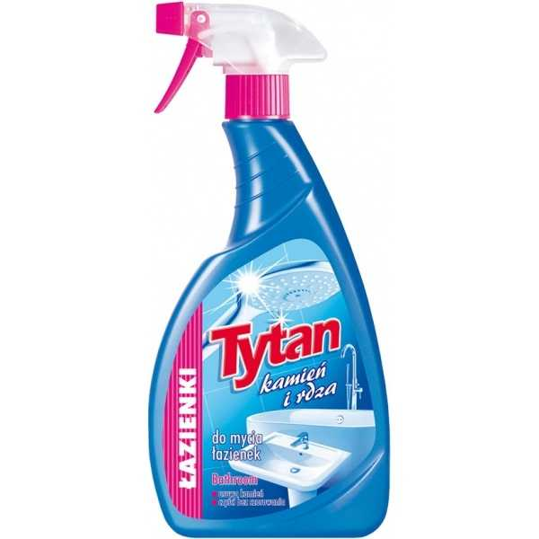 Spray do łazienki tytan 500ml