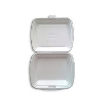 MenuBox opakowanie styropianowe niedzielone z wieczkiem 125 sztuk