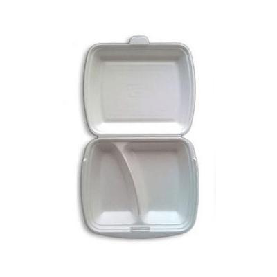 MenuBox opakowanie styropianowe dwudzielne z wieczkiem 125 sztuk
