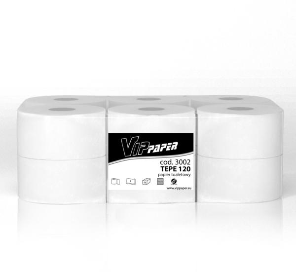 Papiery toaletowe w dużych rolkach
