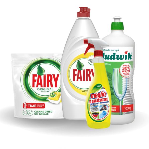 Zmywanie i czyszczenie urządzeń