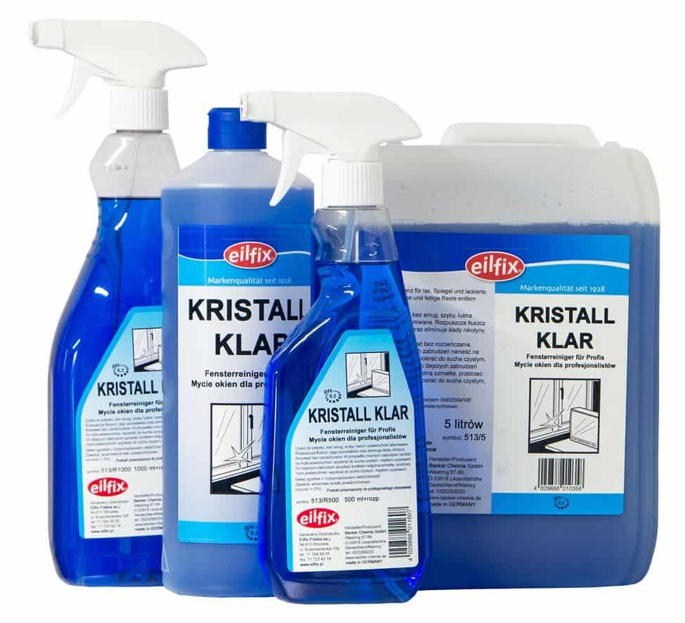 Eilfix Kristall Klar płyn do mycia szyb i okien