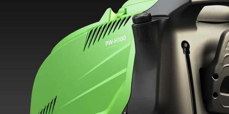 Korek wlewu paliwa w myjce wysokociśnieniowej IPC PW-H100
