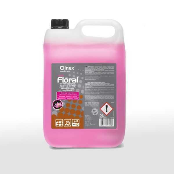 CLINEX FLORAL BLUSH uniwersalny płyn do mycia podłóg 5 litrów