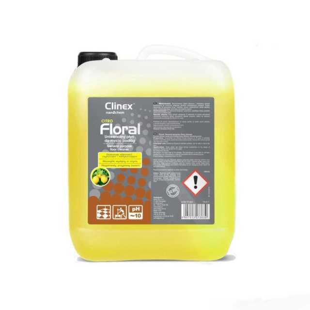 CLINEX FLORAL CITRO uniwersalny płyn do mycia podłóg 10 litrów