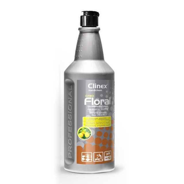 CLINEX FLORAL CITRO uniwersalny płyn do mycia podłóg 1 litr