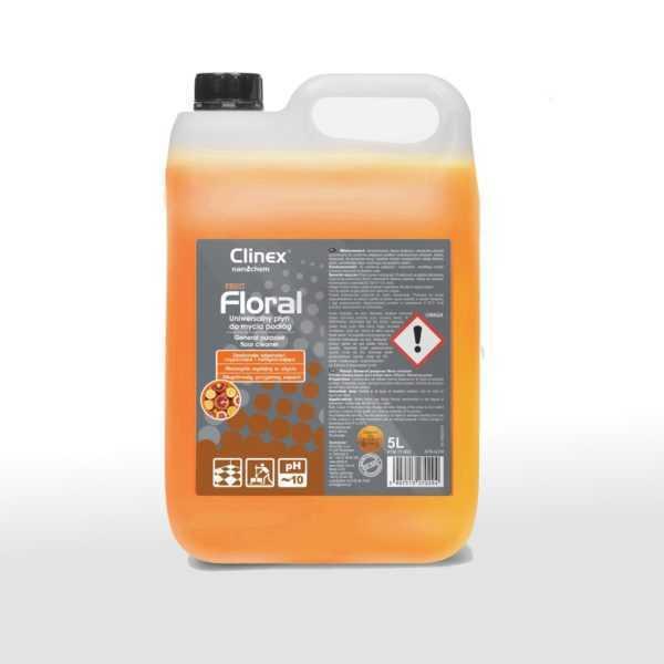 CLINEX FLORAL FRUIT uniwersalny płyn do mycia podłóg 5 litrów