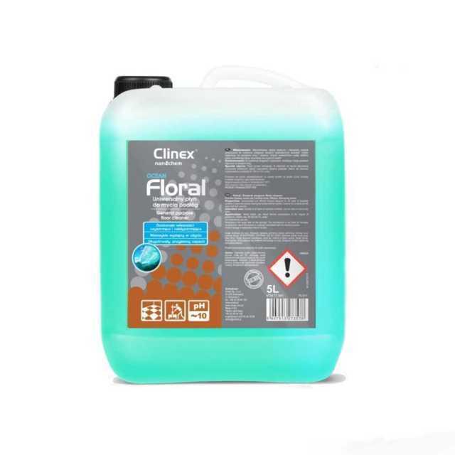 CLINEX FLORAL OCEAN uniwersalny płyn do mycia podłóg 10 litrów