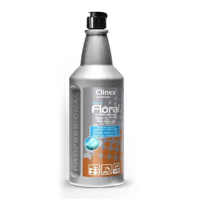 CLINEX FLORAL OCEAN uniwersalny płyn do mycia podłóg 1 litr