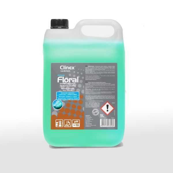 CLINEX FLORAL OCEAN uniwersalny płyn do mycia podłóg 5 litrów