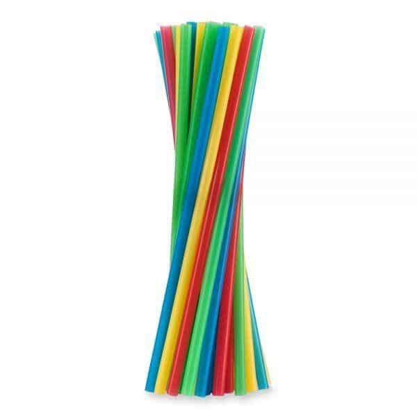 Słomki proste shake różne kolory