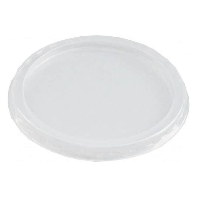 Okrągłe i przezroczyste wieczko o średnicy 102 mm