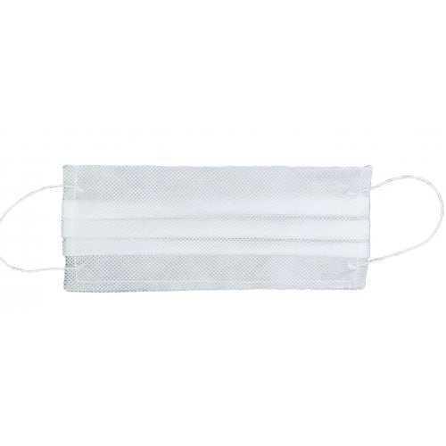 Flizelinowa maseczka ochrona z gumkami