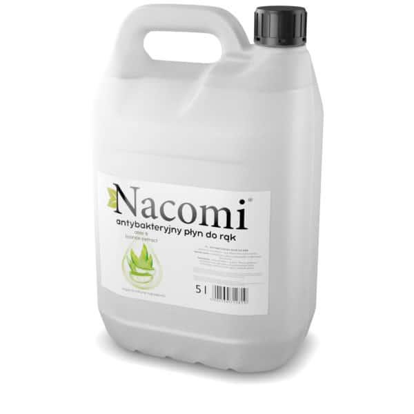 Płyn antybakteryjny o silnych właściwościach dezynfekcyjnych NACOMI z 70% zawartością alkoholu