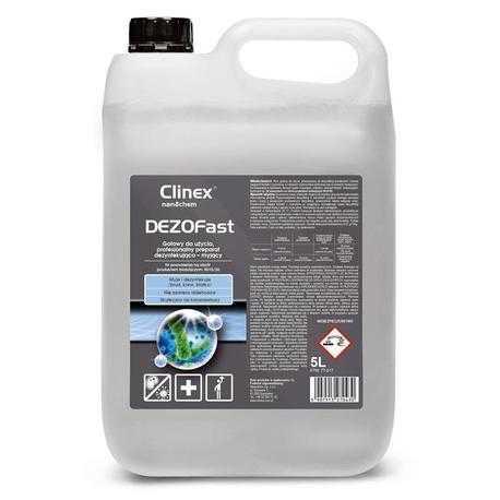 Gotowy do użycia preparat dezynfekująco myjący Clinex DEZOFast 5 litrów