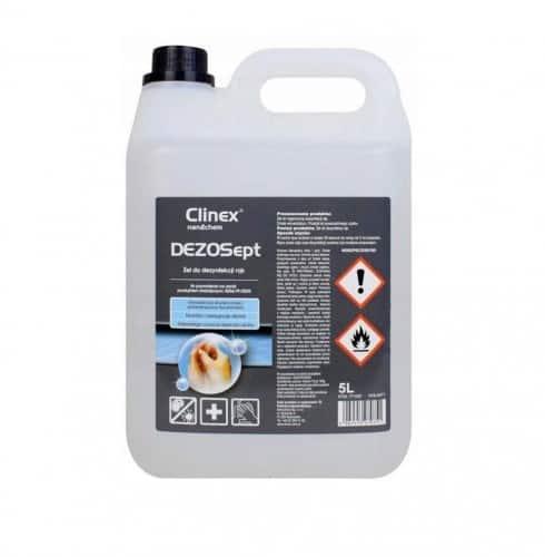 Żel do dezynfekcji rąk Clinex DEZOSept 5 litrów