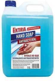 Mydło do rąk w płynie o działaniu antybakteryjnym 5 litrów