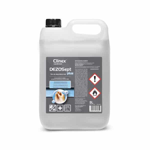 Płyn do dezynfekcji rąk Clinex DEZOSept plus 5 litrów