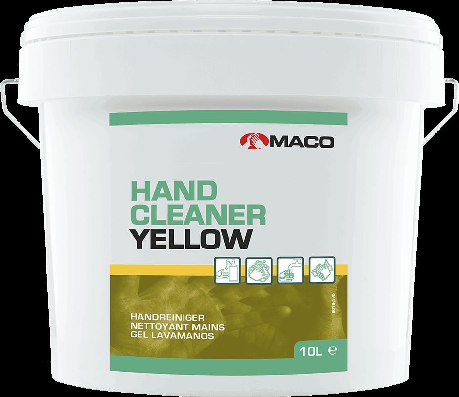 Pasta do mycia rąk w żelu - Maco Hand Cleaner Yellow 10litrów