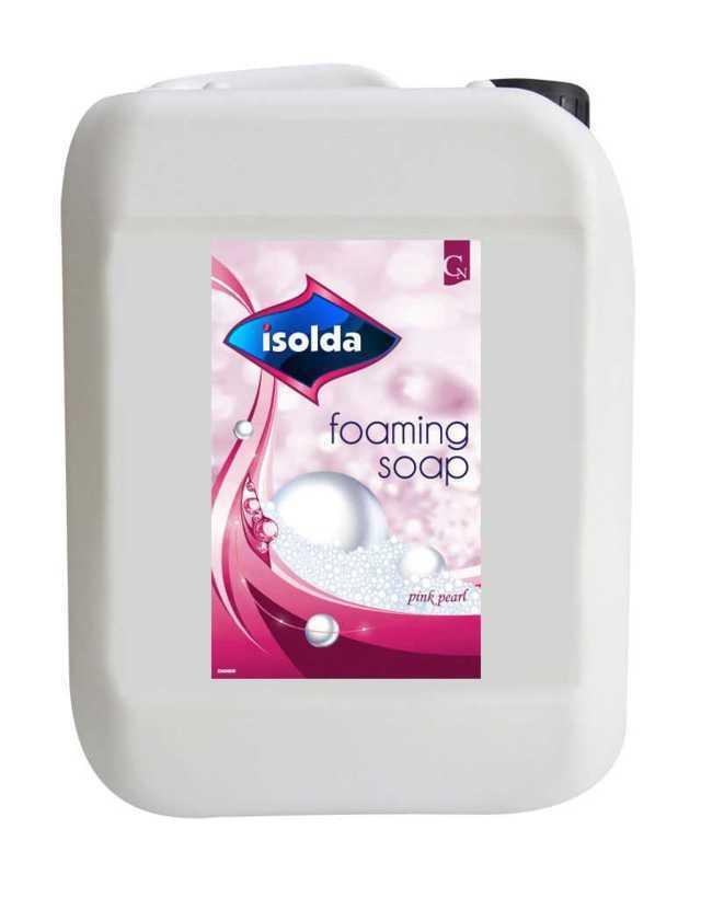 ISOLDA mydło w pianie, różowa perła 5 litrów