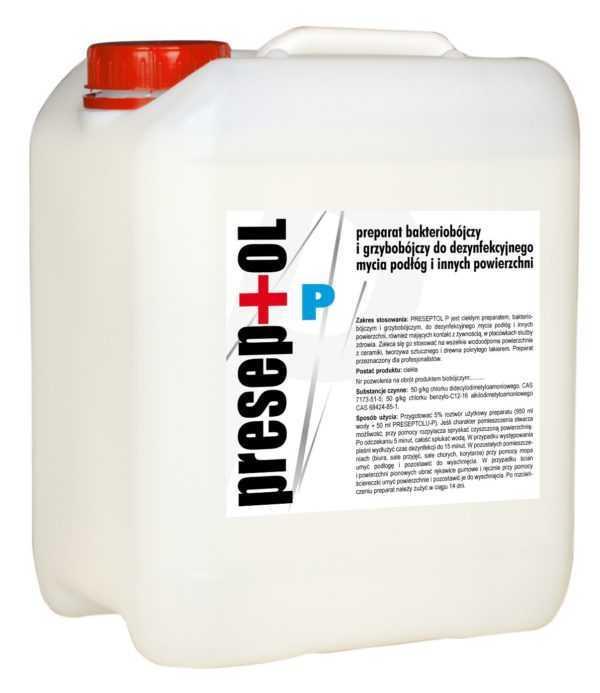 LAKMA PRESEPTOL P, środek do mycia i dezynfekcji powierzchni 1 litr