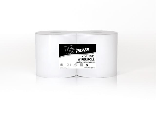 VIPpaper czyściwo przemysłowe, celulozowe WIPER ROLL V-1015 460 metrów