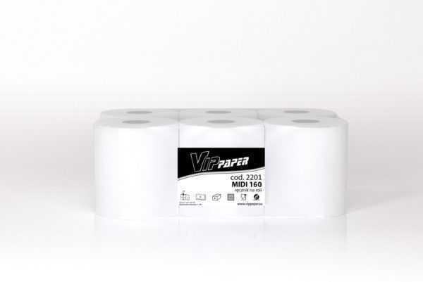 VIPpaper ręcznik papierowy w roli MIDI 160 V-2201