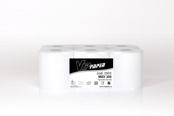 VIPpaper ręcznik papierowy w roli MIDI 300 V-2503