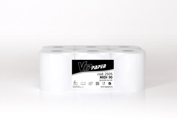VIPpaper ręcznik papierowy w roli MIDI 90 V-2505