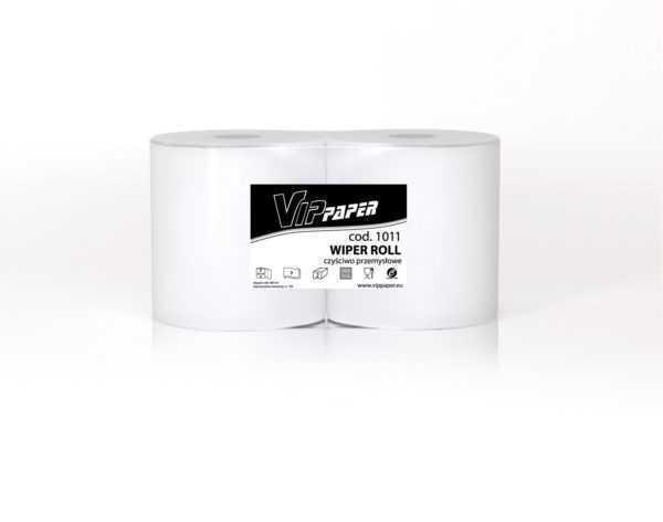 VIPpaper czyściwo przemysłowe, celulozowe WIPER ROLL V-1011 250 metrów