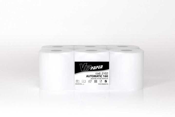 VIPpaper ręcznik papierowy w roli AUTOMATIC 160 V-2102