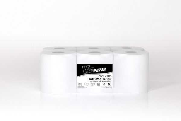 VIPpaper ręcznik papierowy w roli autocut AUTOMATIC KAT 140 H21 V-2106