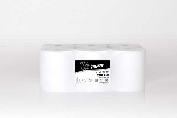 Vippaper ręcznik papierowy w rolce MIDI 150 cod. 2202