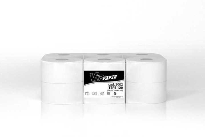 Vippaper papier toaletowy w rolce TEPE 120 cod. 3002