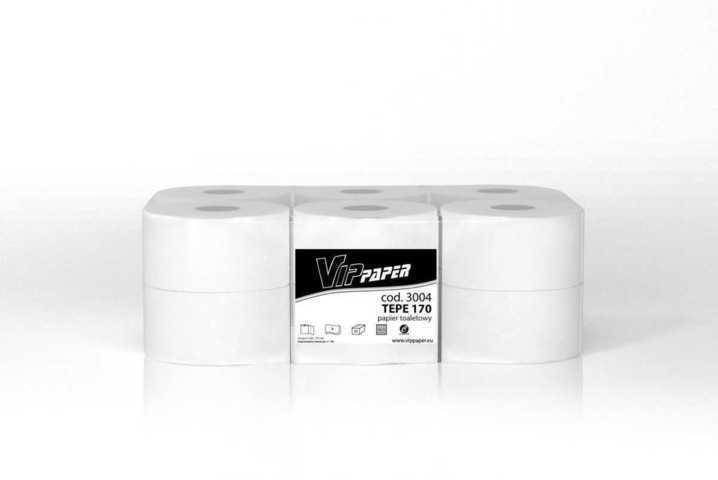 Vippaper papier toaletowy w rolce TEPE 170 cod. 3004