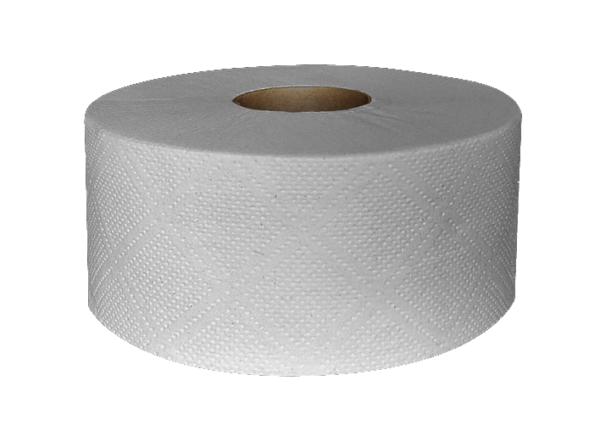 Papier toaletowy szary JUMBO, makulaturowy 6 rolek