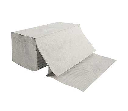 VIPpaper ZZ szare ręczniki papierowe składane V-FOLD makulatura ekonomiczne