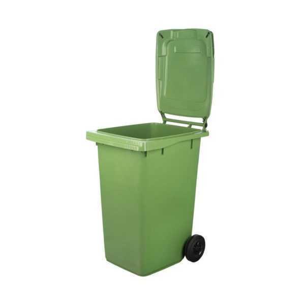 Kosze na odpady z klapą duże